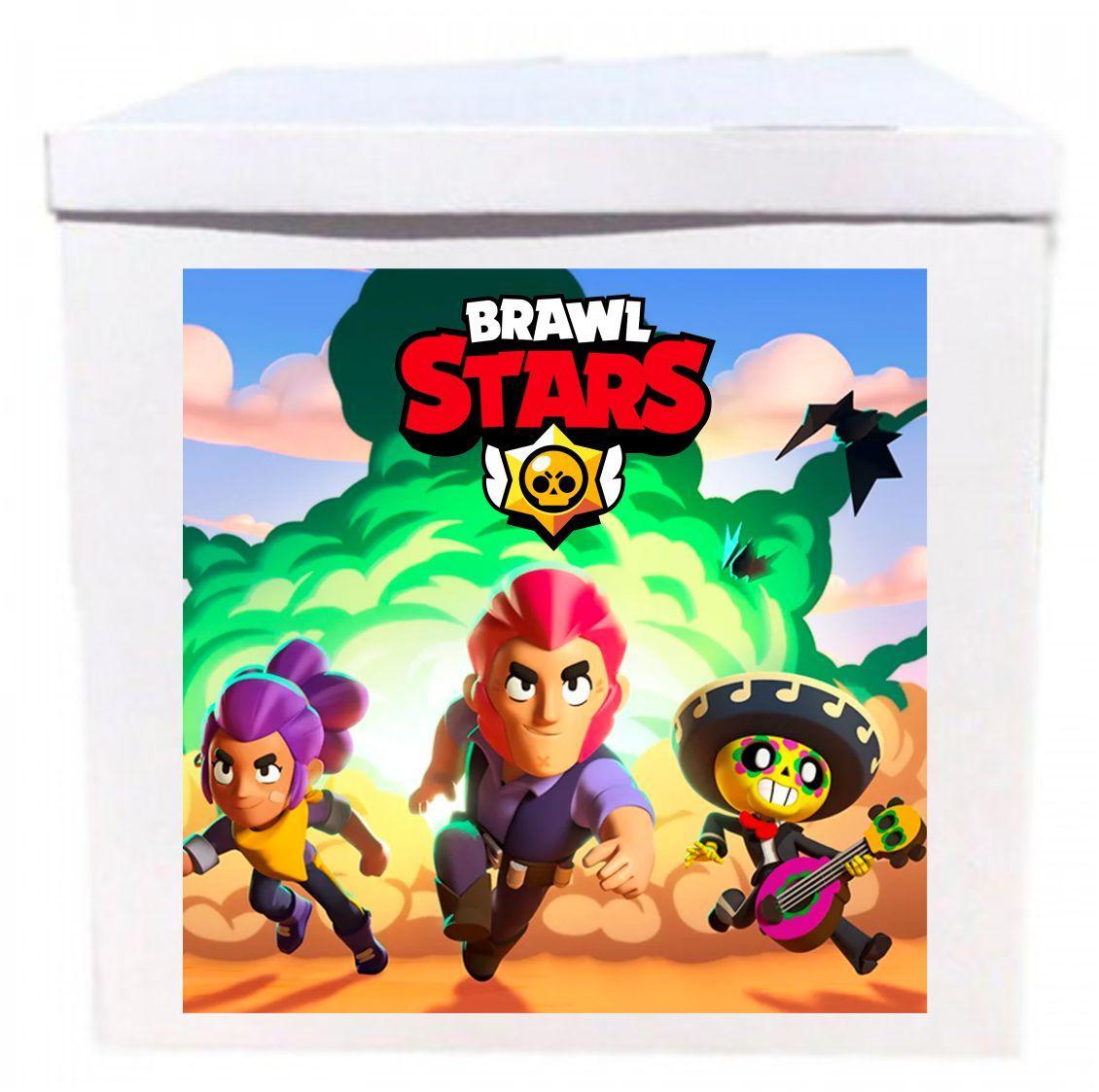 Оракал Brawl Stars на коробку розміром 70*70см