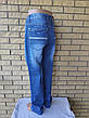 Джинсы мужские легкие большого размера на высокий рост VIGOOCC, фото 4