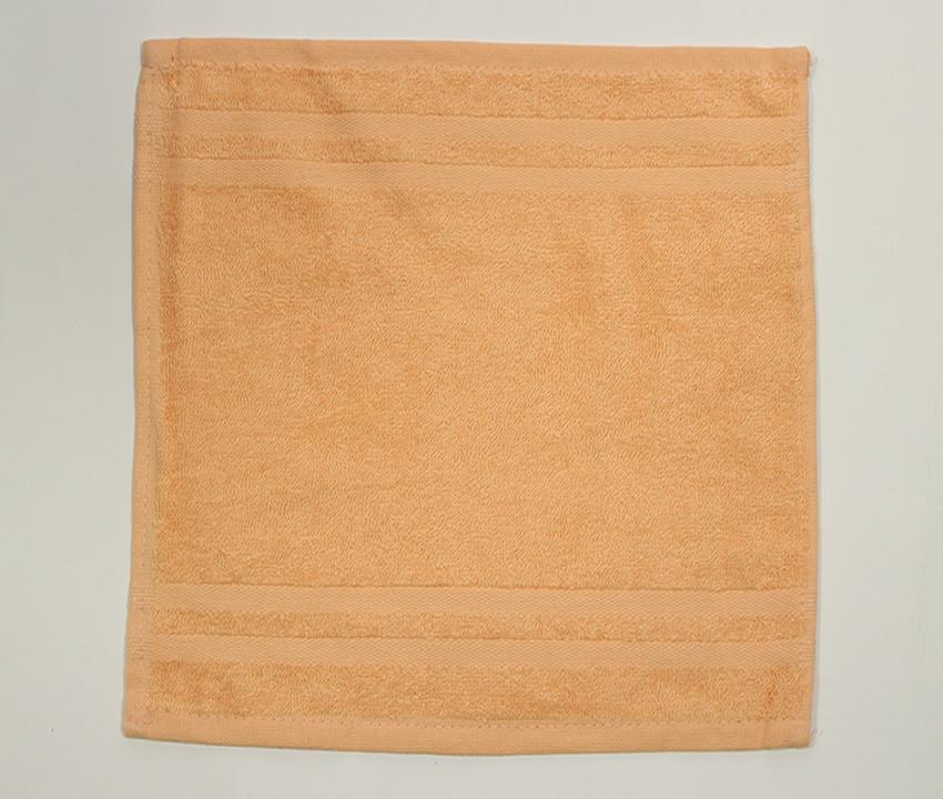Салфетка махровая  30х30 Желтая 1 шт.