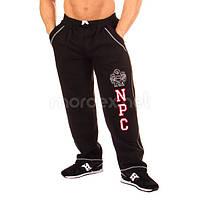 NPC, Штаны спортивные теплые NPC USA Fleece Pants, черный/белый