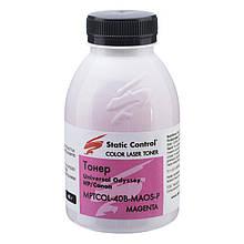 Тонер SCC (MPTCOL-40B-MAOS-P) HP LJ Universal Magenta 40г