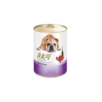 Консерва Dolina Noteci Rafi Dog (65%) паштет из дичи, 400 гр