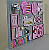 Розвиваюча дошка розмір 30*50 Бизиборд для дітей, фото 5