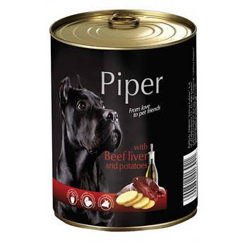 Консерва Dolina Noteci Piper Dog (60%) говяжья печень и картофель, 400 гр