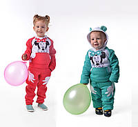 Е122 Детский спортивный костюм на флисе