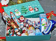 Детский подарочный набор на Новый год. Вес конфет 360 грамм, фото 1