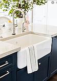 Мийка кухонна керамічна з відкритим фронтом в американському/англійському стилі Shaws Butler 800 бісквіт, фото 7