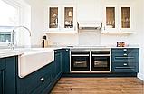 Мийка кухонна керамічна з відкритим фронтом в американському/англійському стилі Shaws Butler 800 бісквіт, фото 8