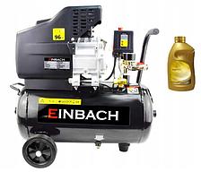 Компрессор Einbach DE-EH24 2.8 кВт, 24л + масло для компрессора