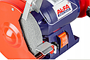 Точило дисково-ленточное Al-Fa ALBG18B + лента в подарок, фото 6