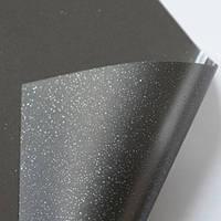 Декоративная тонировочная плёнка Жемчуг Чёрный Armolan на стекло самоклеющаяся ширина 1,20 пм, фото 1
