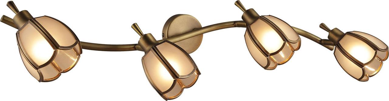 Спот Altalusse INL-9317W-04 Golden Brass