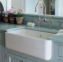 Мойка кухонная керамическая с открытым фронтом в американском/английском стиле Shaws Butler 1000 бисквит
