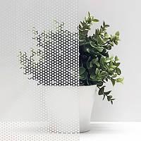 Декоративная тонировочная плёнка Точки Матовые Armolan на стекло самоклеющаяся ширина 1,27 м