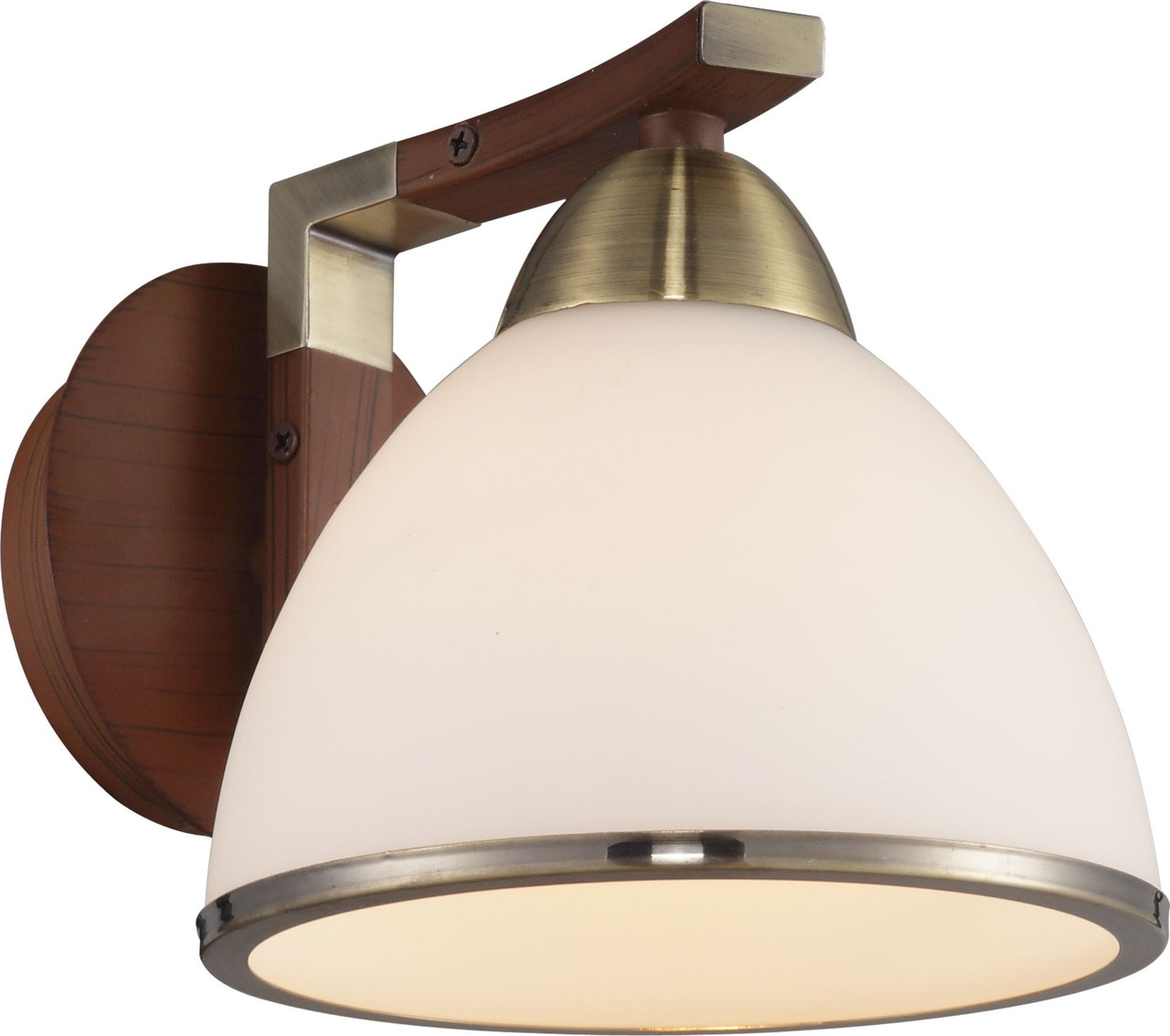 Бра Altalusse INL-9287W-01 Antique brass & Walnut