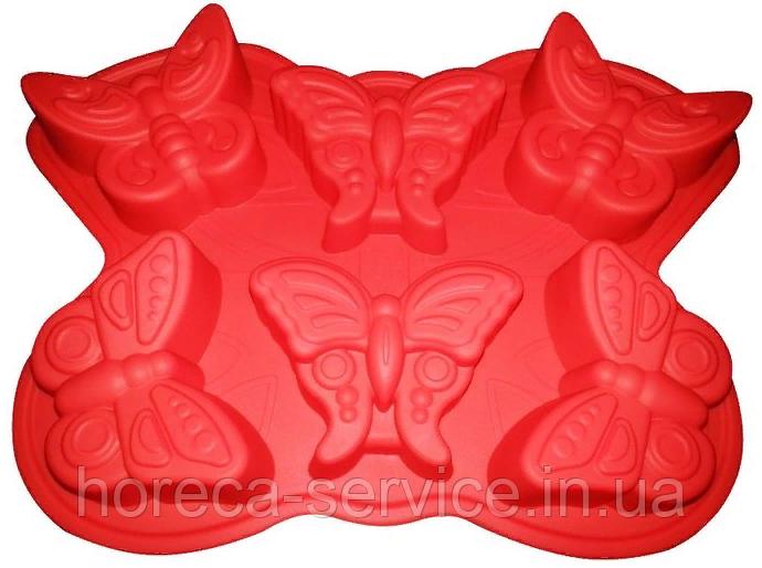 """Силиконовая форма""""Бабочки""""320*230*35 мм (шт)"""