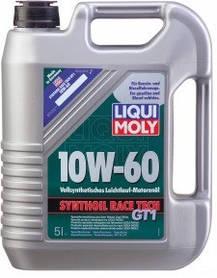 Ликви Моли 10w 60, моторное масло Syntoil Race Tech, 5 литров, Германия
