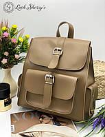 Женский рюкзак 011 оливка,  женские рюкзаки купить оптом недорого в Украине, фото 1