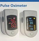 Пульсоксиметр на палец Pulse Oximeter Fingertip, фото 3