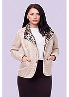 ✔️ Легкая короткая стеганная женская куртка 50-58 большие размеры разные расцветки, фото 1
