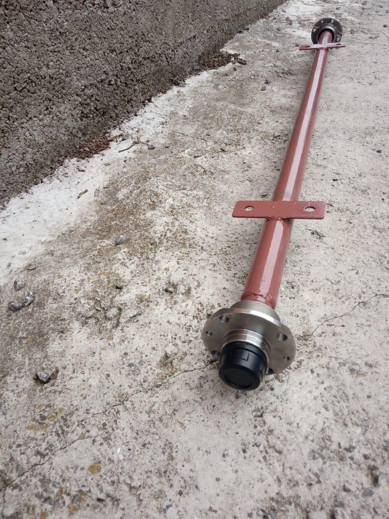 Ось на прицеп усиленная под жигулевское колесо АТВ-155(08П)