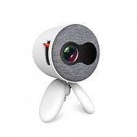 Детский портативный мини проектор Folem YG220, белый