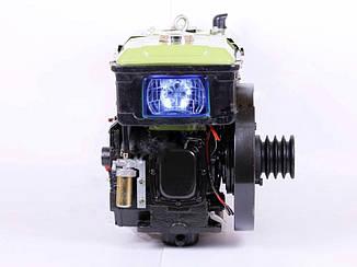 Двигатель SH190NDL (10 л.с.) — Zubr (с электростартером)