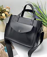 Женская сумка 064 черный, купить женские сумки купить недорого Одесса 7 км, фото 1