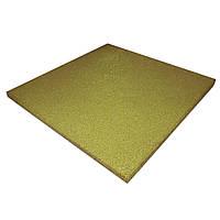 Резиновая плитка PuzzleGym 500х500х10 мм Желтый