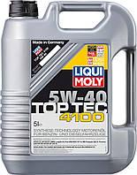 Ликви Моли 5w 40, моторное масло Top Tec 4100  5L, Германия