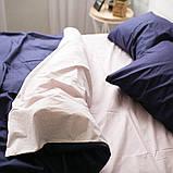 Комплект постільної білизни з попліну Туреччина 100% бавовна, постільна білизна поплін PF022 Євро, фото 4
