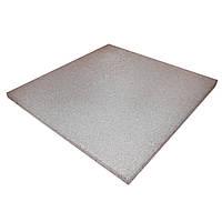 Резиновая плитка PuzzleGym 500х500х10 мм Светло-серый
