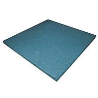 Резиновая плитка PuzzleGym 500х500х10 мм Синий