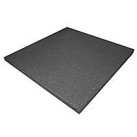Резиновая плитка PuzzleGym 500х500х10 мм Темно-серый