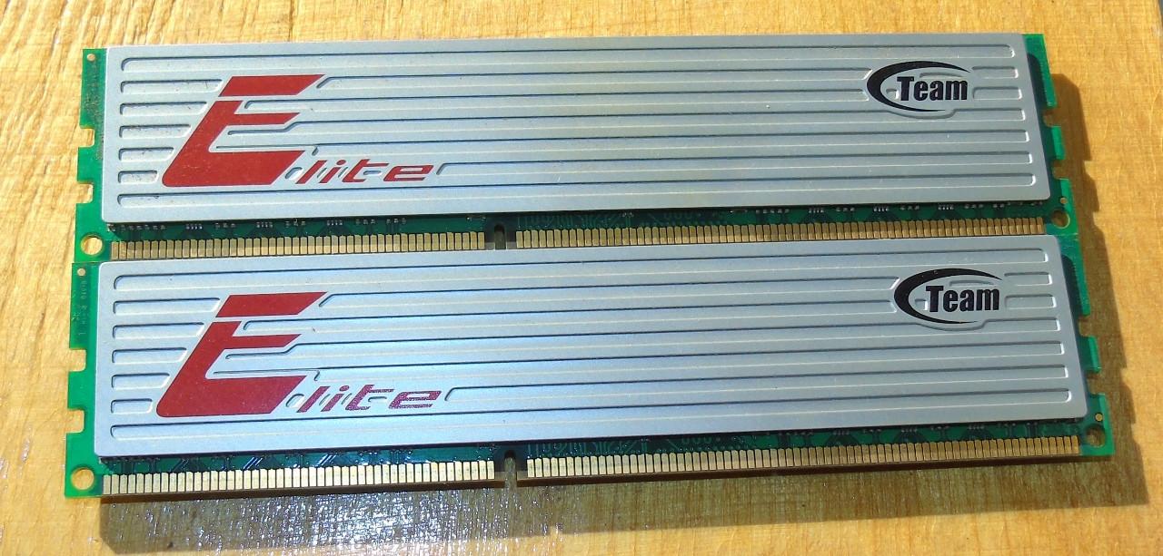 8GB DDR3 Оперативная память Team Elite 1600Mhz 2x4GB