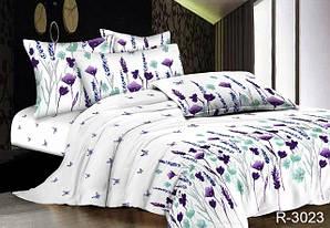 Двоспальні Євро комплекти постільної білизни з Ранфорс