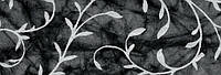 """Бум. ручн.работы 100г 20х30см батик с серебряным узором """"Акант"""" ЧЕРНЫЙ"""