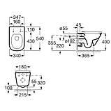 Звоните. Будет дешевле. Комплект: GAP Rimless унитаз подвесной с сиденьем Slim, slow-closing + VOLLE MASTER, фото 2