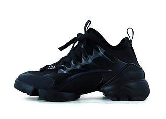 Женские кроссовки Dior (черные) 11935