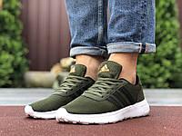 Мужские кроссовки Adidas (реплика), зеленые (9562)