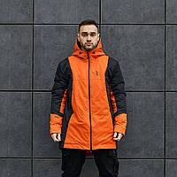 Куртка демисезонная мужская Пушка Огонь Horn оранжевая L