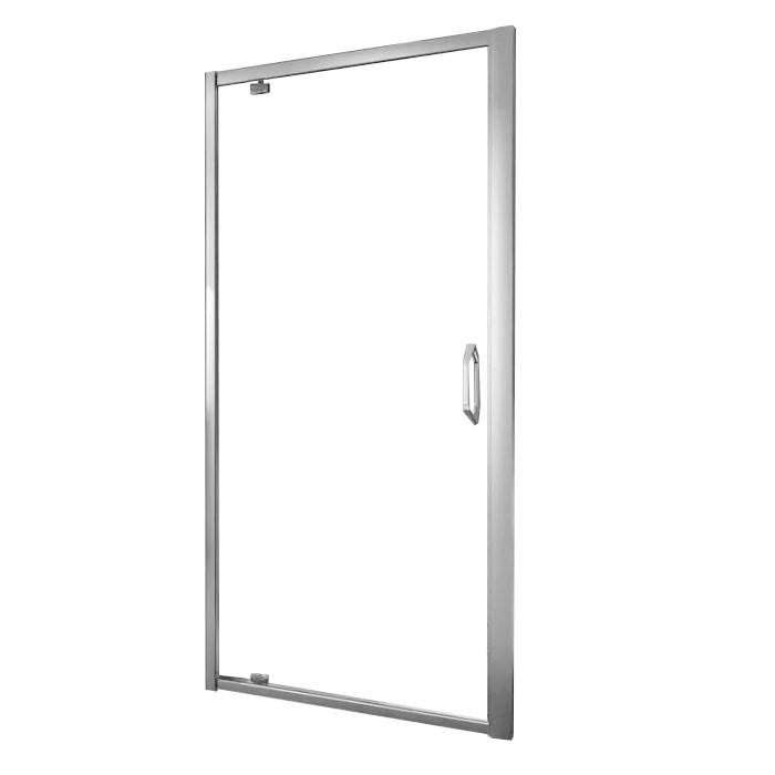 Нужно дешевле? Звоните. Huppe X1 дверь распашная для ниши и боковой стенки  90*190см (проф гл хром, стекло