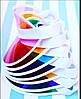 Цветной пластиковый козырек от солнца, фото 4