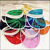 Цветной пластиковый козырек от солнца, фото 5