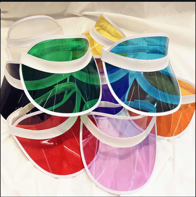 Солнцезащитный пластиковый козырек разные цвета