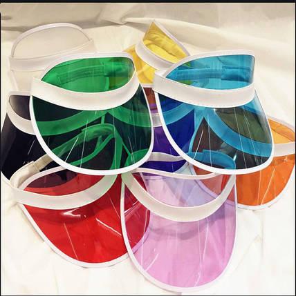 Солнцезащитный пластиковый козырек разные цвета, фото 2