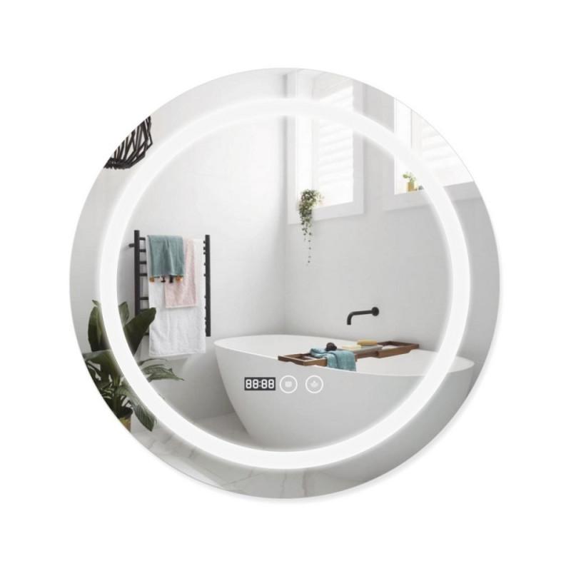Нужно дешевле? Звоните. Зеркало с подсветкой и антизапотеванием Q-tap Mideya LED DC-F803 600*600
