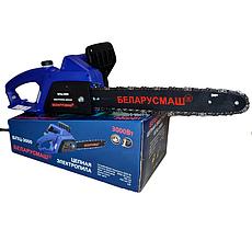 Электропила Беларусмаш БПЦ-3000Вт (2 Шины 2 Цепи), фото 3