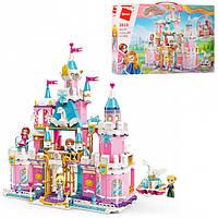 Конструктор BRICK для девочек Princess Leah Snowy Swan Castle 801деталь.
