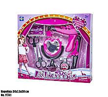 Іграшковий набір перукаря для дівчаток з феном і плойкою від 3 років